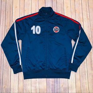 Other - England men's soccer track zip up jacket Sz M